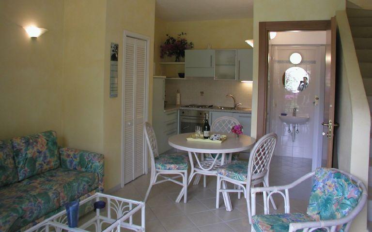 50 m2 Appartment - unten