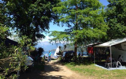 Campingplatze am Lago Maggiore
