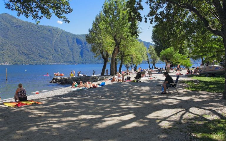 Camping Riviera: Unser Strand