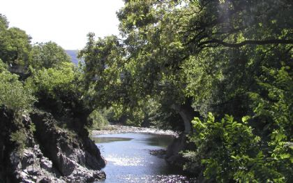 Fluss Canobino