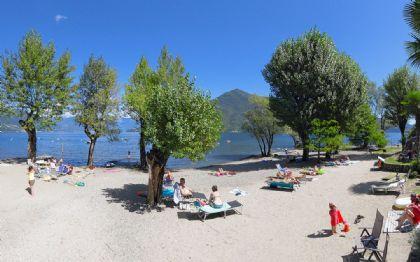 Camping Lake Laggiore our wide beach