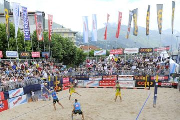 Swiss Beachvolley Tour in Locarno